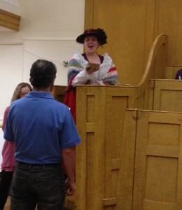 Mrs Garner landlady sworn in