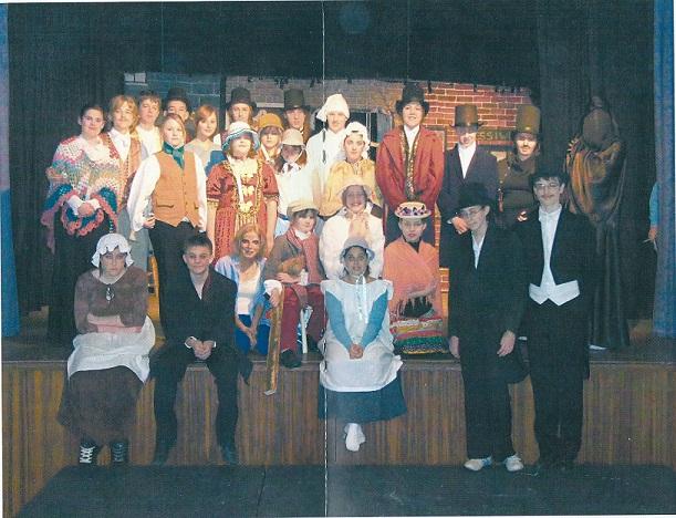 A Christmas Carol 2009 Cast.Christmas Carol 2007 Huntingdon Youth Theatre